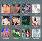 2014 Summary of Art - Comical1 by Comical1