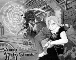 full metal alchemist by blades123