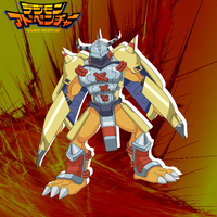 Wargreymon Again by Taniaetc