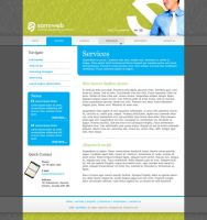 Samiweb Website Layout by AbhaySingh1