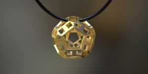 3D printed pendant MB3D by nic022