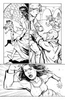 Robyn Hood: Wanted #5 pg. 21 sample by xaqBazit