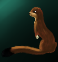 Here have a Weasel by CleverConflict