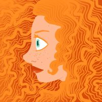 Ginger curls by tugaMaggie