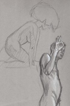 Life drawing practice 4 by FredHooper