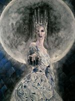Ice Queen detail by wornfall