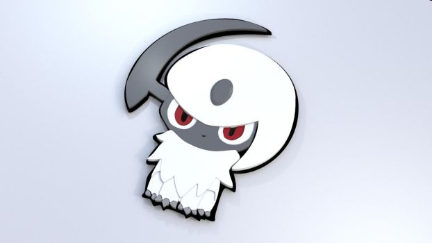 Absol by JWright-3D-Graphics
