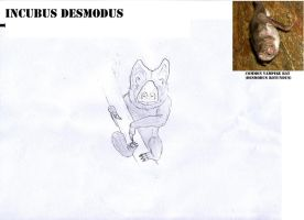 Incubus desmodus by juniorWoodchuck