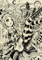 Alice in Wasteland by Craelle