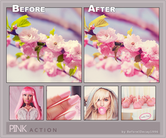 Pink Action by BeforeIDecay1996