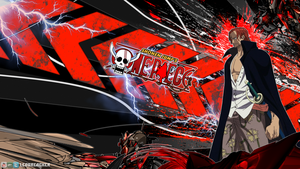 One Piece - Shanks Desktop Background 1600x900 by leobreacker