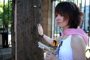The look out- Yuna Cosplay by SwordofNyx