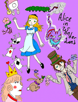 Alice In Somethingland :Mird: by Juunshi