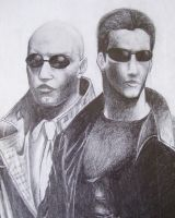 The Matrix by LiquidsnakE4