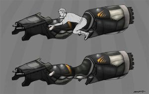 Hoverbike by LeechLights