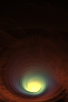 Kickin' Up Dust - Fractal Art by CMWVisualArts