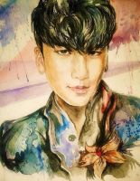 Big Bang: SeungRi by Mizecki