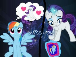 Miss you! by UnicornRarity