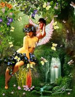 Amor and Psyche by Alimera