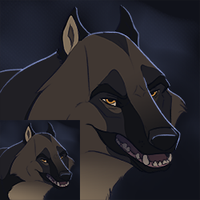 Wolf Icon by DawnFrost