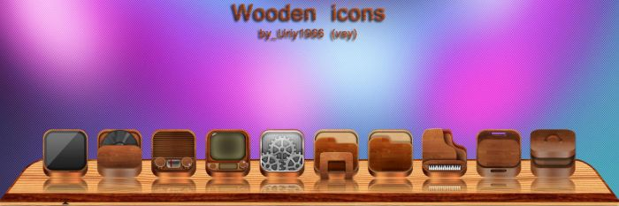 Wooden icons by Uriy1966