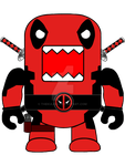 Deadpool Domo by Thekulkid