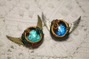 Glass Gem Pendants by Nabila1790