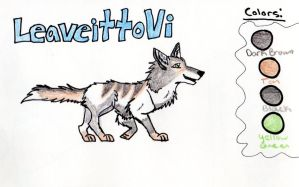 CONTEST ENTRY FOR LEAVEITTOVI by AlphaWolfKodijr