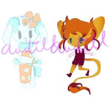 Chibi Adopables 25 points each by Audill