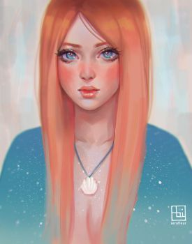 Orange Sea Breeze by serafleur