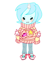 Girly sweater by SharkMate
