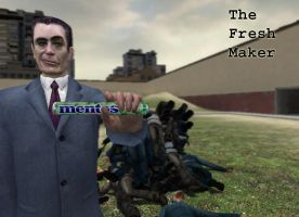The GMan Fresh Maker by dj-darkviper
