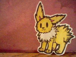 Jolteon Chibi by samsamcupcakes