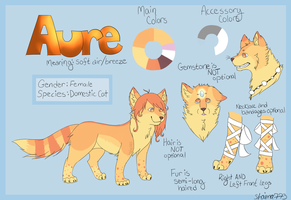 Complex Reference Sheet Commish by shaina773