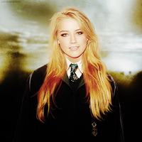 AMBER HEARD - SLYTHERIN by archiburning