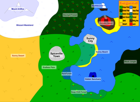 Team FallenStar Map by Tails230