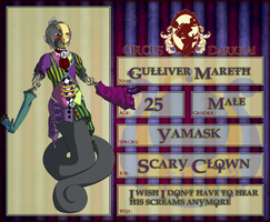 Circus Darkrai application: Gulliver Mareth by 1wordinsane