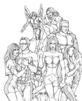 X-Men-Team Omega by Ludi-Price