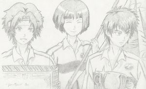 PoT: Yukimura, Yanagi and Sanada by Princessemeral