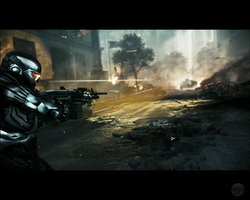 Crysis 2 Wallpaper 6 by Death-GFx