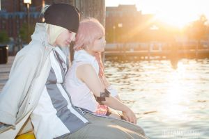 FFXIII - In the Sky That Night by kitsunesqueak