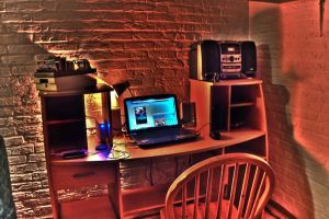 My Desk HDR by MisterDedication