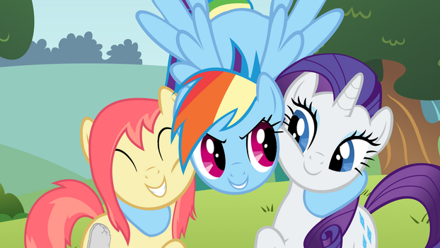 Rayne and Some Friends by Painbow-Dash