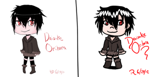 Before and After: Daisuke Version by AgateophobicDetraque