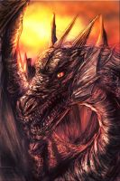 dragon speed painting trial by zamboze