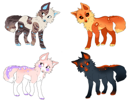 Doggie adopts- open by Solitaryalopex