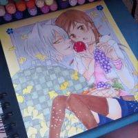 Kamisama Kiss - Tomoe and Nanami by sanartist95