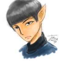 Spock by lulla6y
