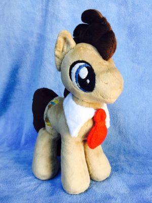 *FOR SALE* Dr. Whooves (side) by EmbroideryMW101
