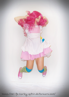 Pinkie Pie cosplay - PRACTICE SHOT 06 by jovialHarlequin